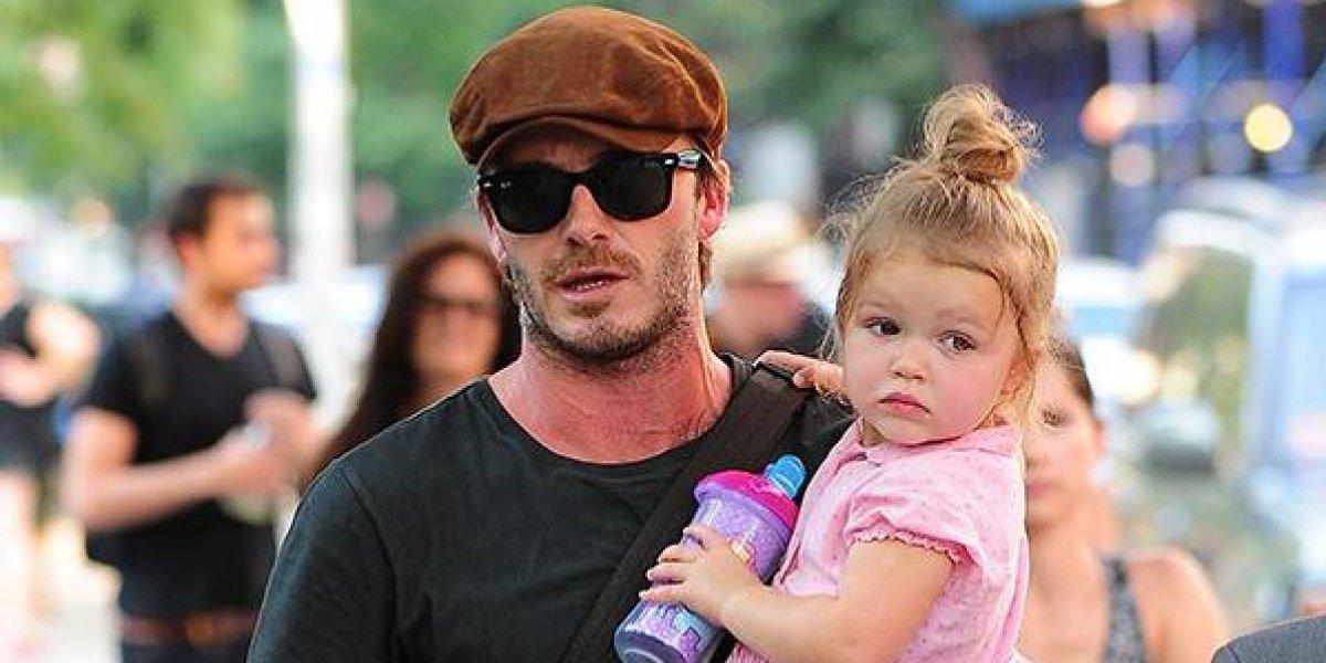 A su corta edad la hija de David Beckham es víctima de crueles comentarios por su físico
