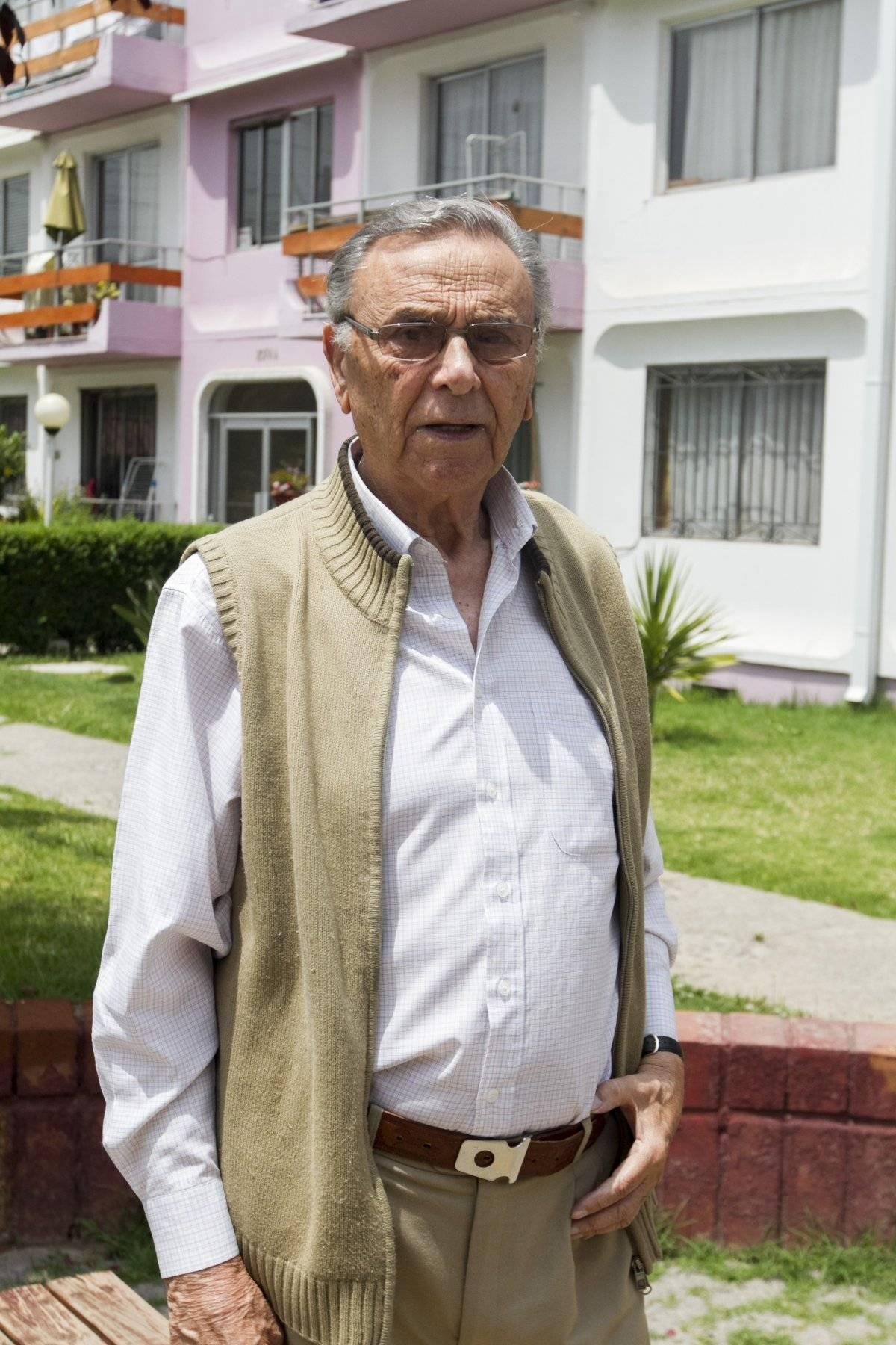 Guzmán Sandoval (87), propietario