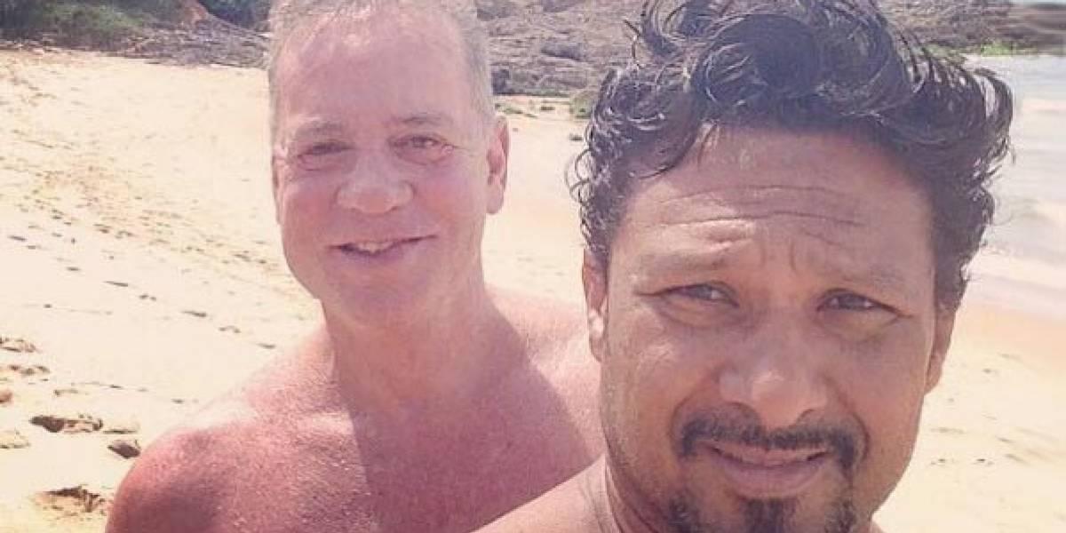 Luiz Fernando Guimarães homenageia marido no Instagram