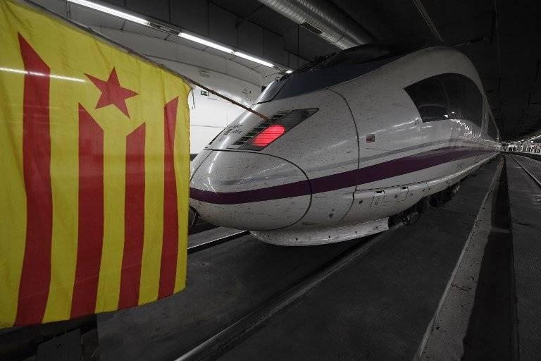 Huelga en Cataluña