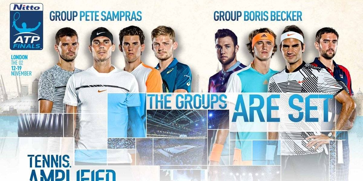 Masters de Londres: un Nadal en duda y Federer a pleno lideran favorables grupos