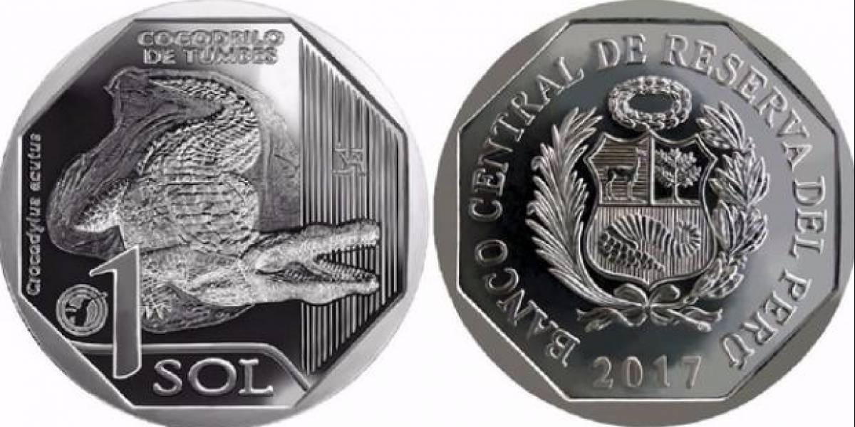 ¿Por qué la nueva moneda peruana tiene un cocodrilo?
