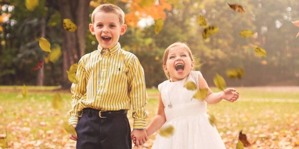 """Niña de 5 años cumple el """"sueño de su vida"""" con su mejor amigo antes de someterse a su tercera cirugía a corazón abierto"""
