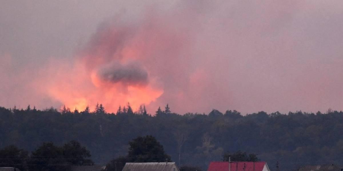 ONU advierte sobre una posible catástrofe de gas cloro en Ucrania