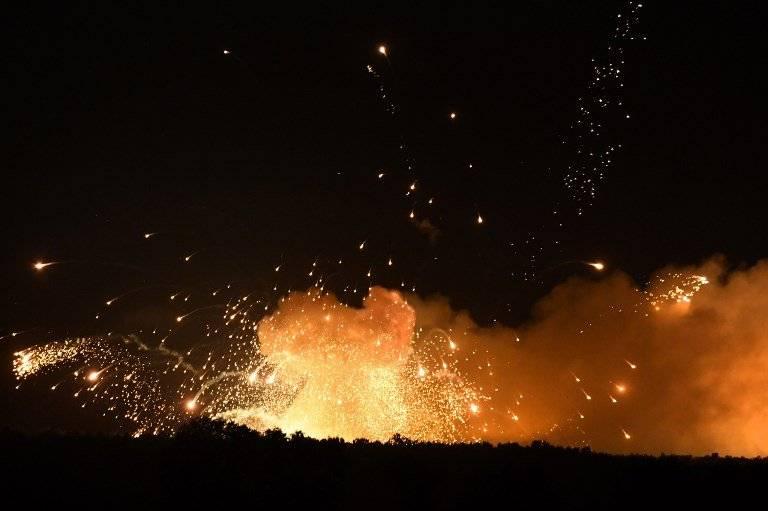 Explosión en Ucrania