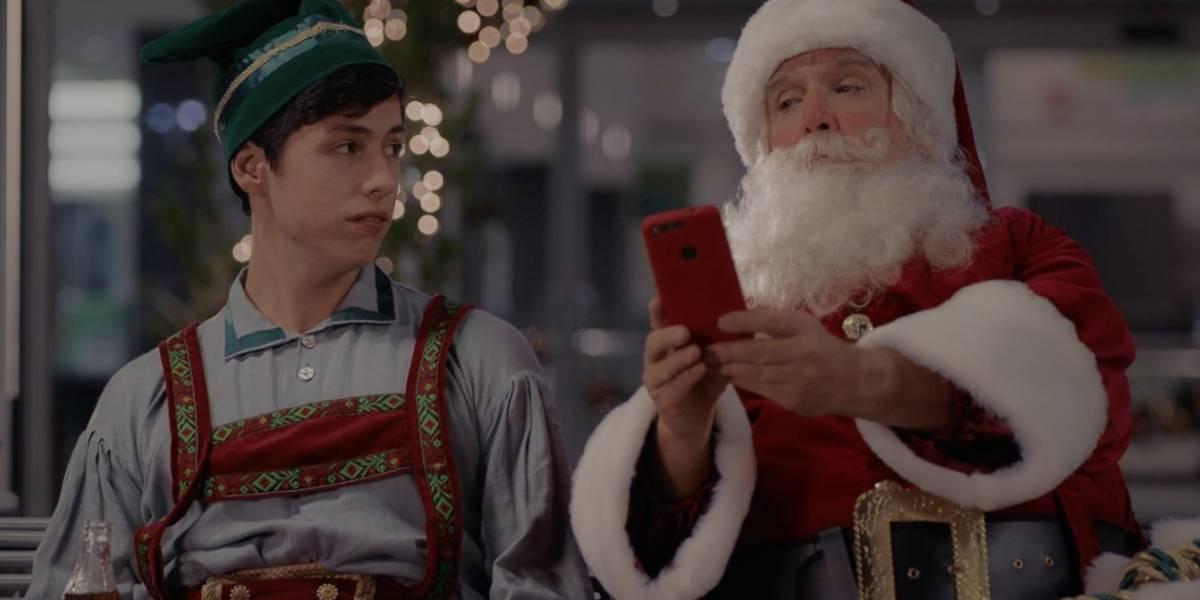 Santa Claus se moderniza esta Navidad