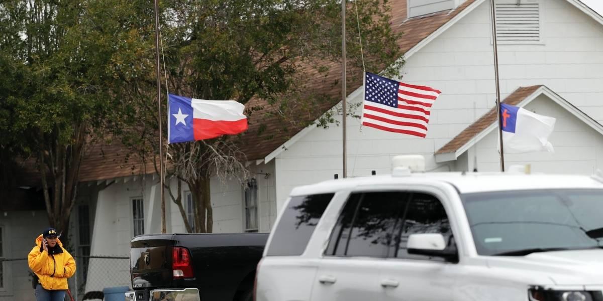 Ocho menores fallecieron en tiroteo en iglesia en Texas
