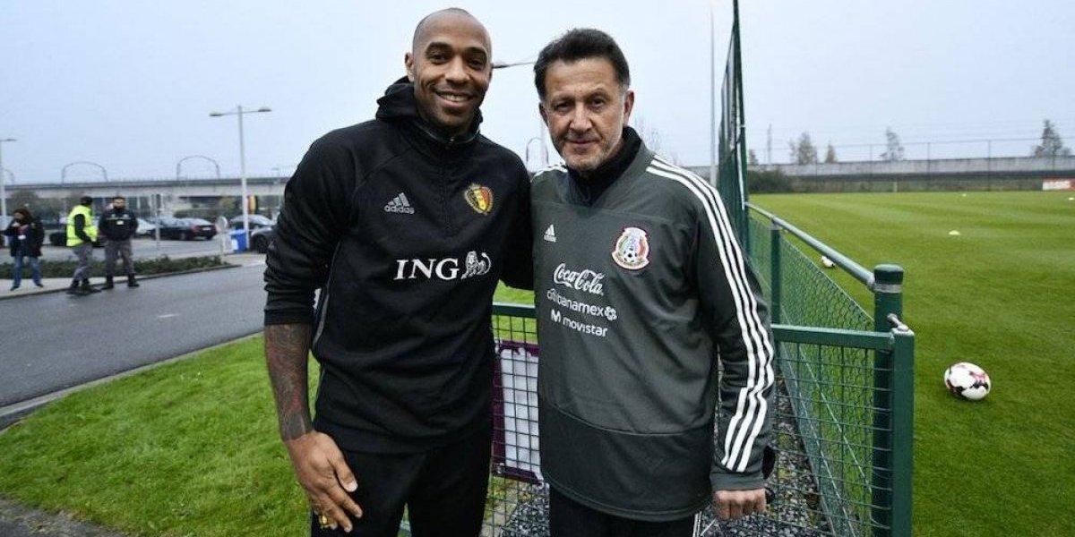 Mandan a Thierry Henry a 'espiar' a la Selección Mexicana