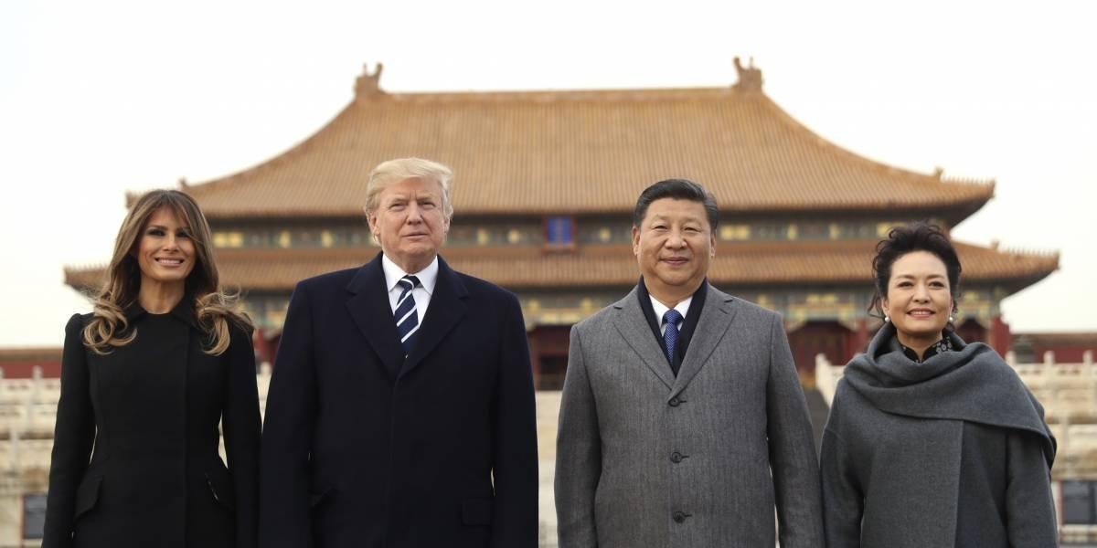 Trump presionará a China sobre comercio y Corea del Norte
