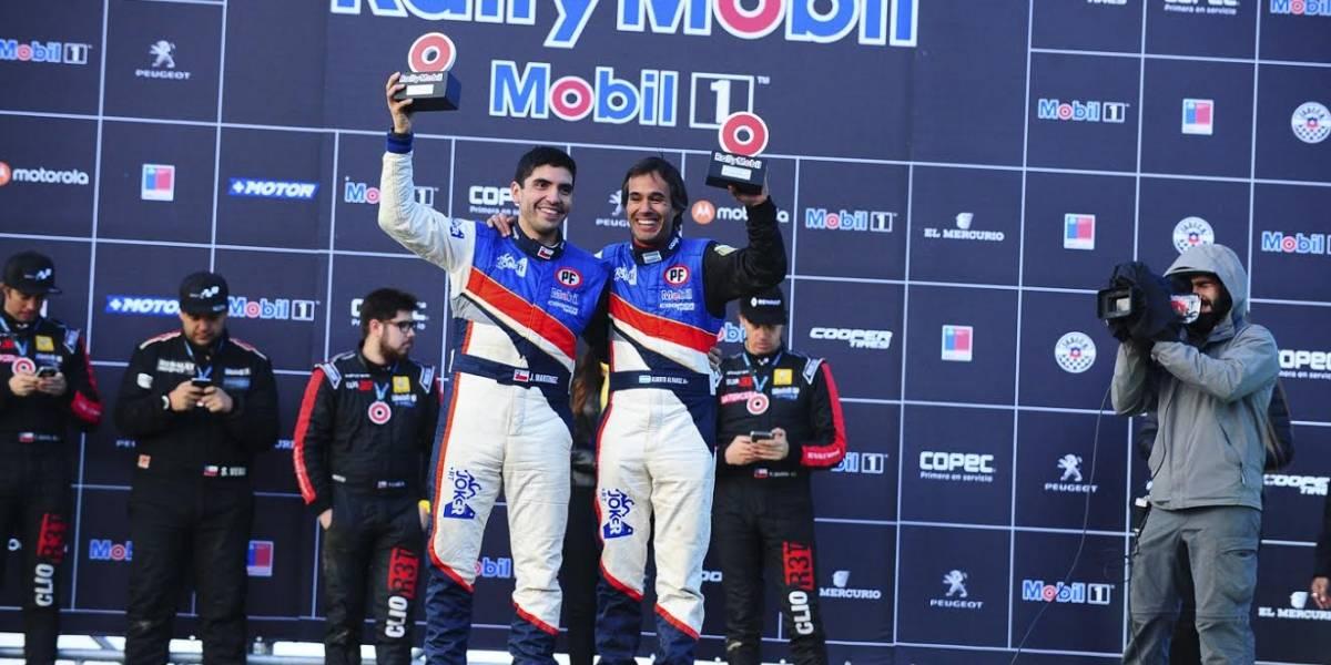 RallyMobil: Jorge Martínez se baja del GP de Valparaíso y le entrega el título en bandeja a Cristóbal Vidaurre