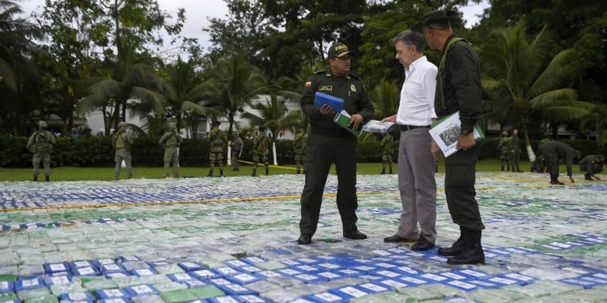 12 toneladas de cocaína: Colombia decomisa el mayor cargamento de esta droga en su historia