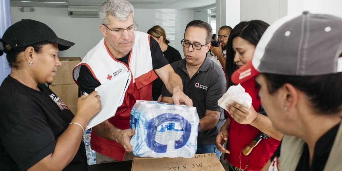 GSK dona $300,000 al capítulo local de la Cruz Roja