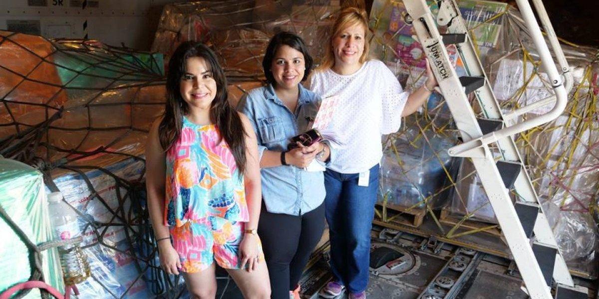 Boricua en la diáspora trae suministros a Puerto Rico