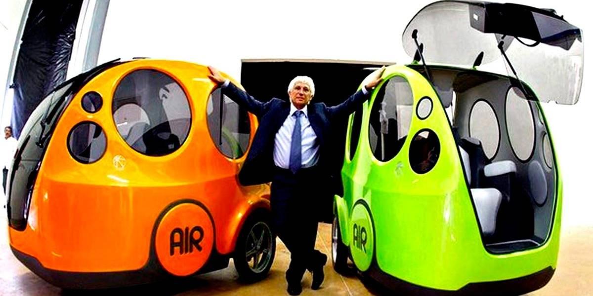 """Itália lança o """"AirPod"""", 1º carro do mundo com ar comprimido"""