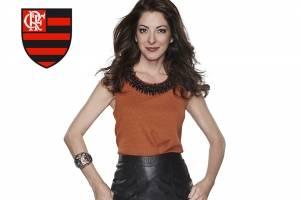 Ana Paula Padrão é flamenguista