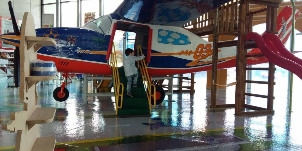 Inauguran área de recreación para niños en Aeropuerto Internacional La Aurora