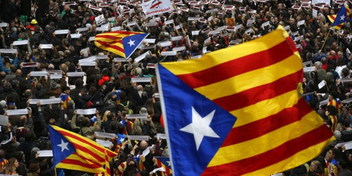 Legisladores catalanes declaran en un caso de rebelión