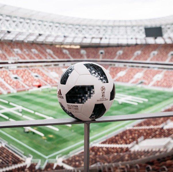 Balón Oficial de la Copa Mundial de la FIFA 2018 Cortesía adidas Football