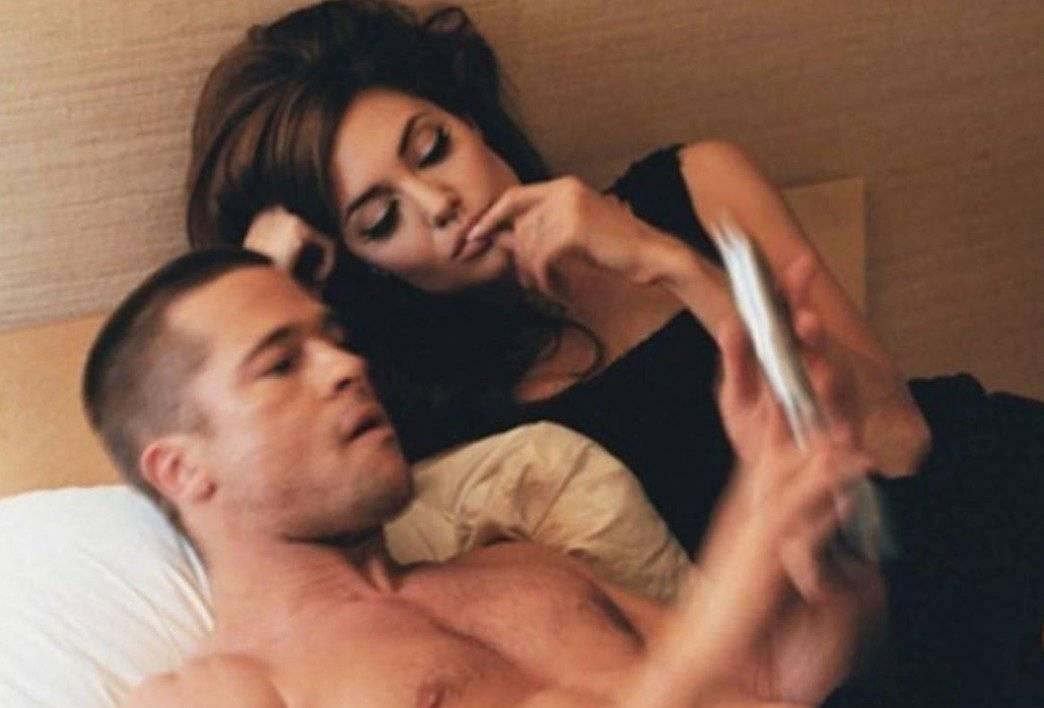 Instagram Vanessa Hudgens publicó foto de Brad Pitt y Angelina Jolie juntos
