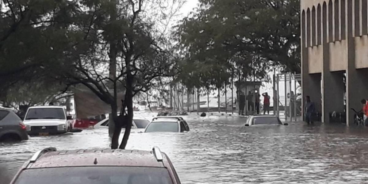 Santa Marta amanece bajo el agua luego de las fuertes lluvias
