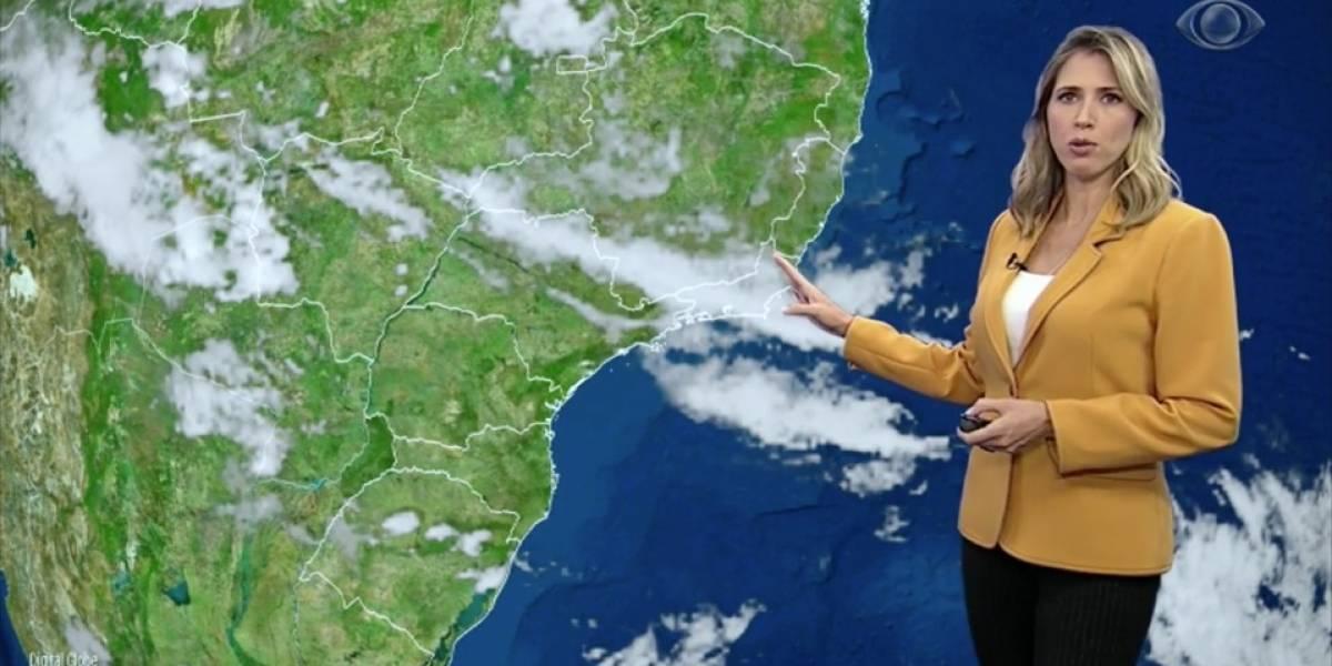 Céu permanece carregado no Sudeste do país