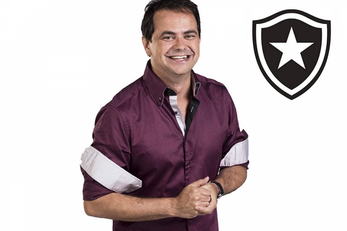 O humorista Carioca é botafoguense Divulgação