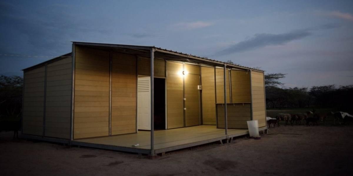 ¿Cómo son las casas que están siendo adaptadas al cambio climático en la Costa Caribe?