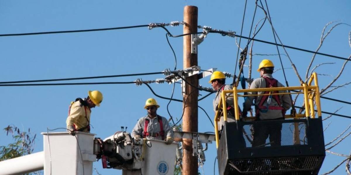 AEE energiza línea afectada de Cambalache a Manatí