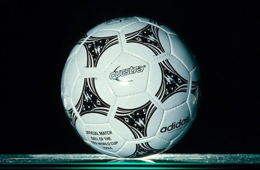 El balón Questra se ocupó durante el Mundial de Estados Unidos en 1994/Getty Images