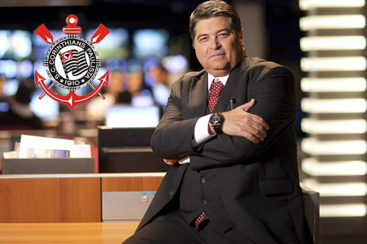 José Luiz Datena é corintiano declarado Divulgação