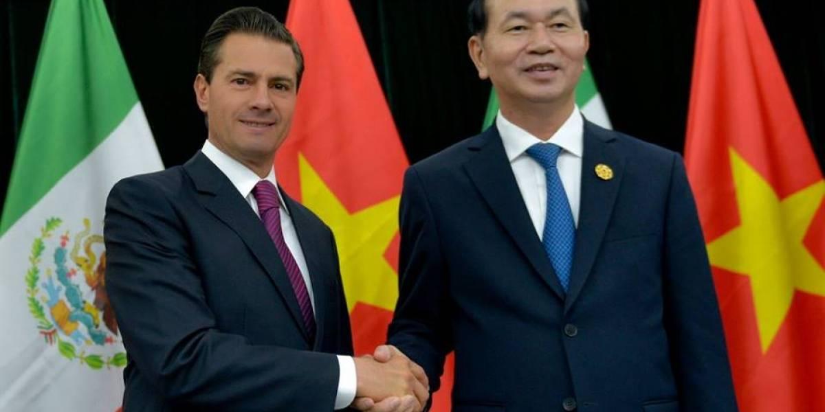 Relación bilateral entre México y Vietnam será más fuerte: Peña Nieto