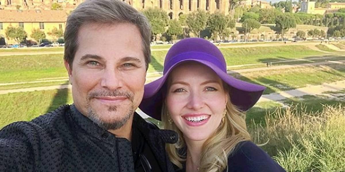Edson Celulari se casa com Karin Roepke em cerimônia secreta na Itália