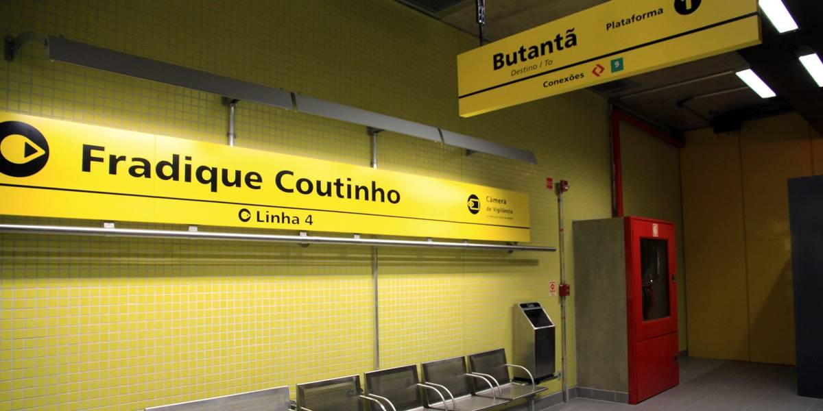 Obras da estação Oscar Freire alteram operação da linha 4 do Metrô de SP