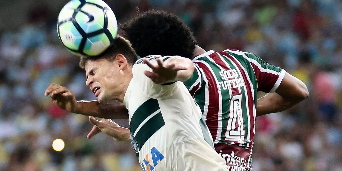 Fluminense vira, mas cede empate ao Coritiba no Maracanã