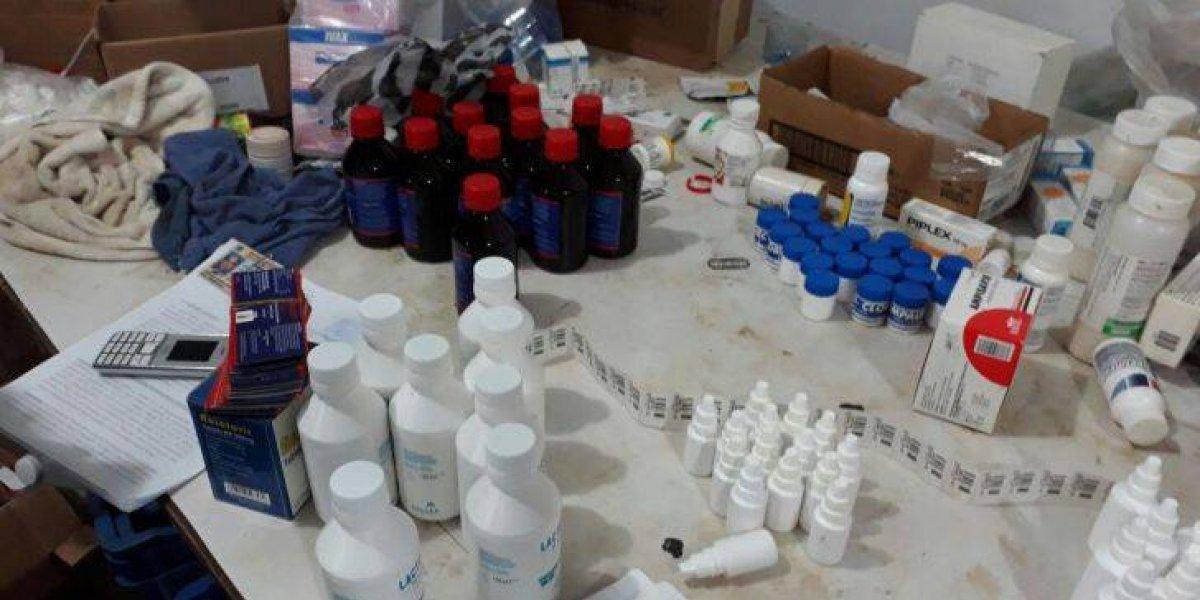 Desmantelan laboratorio de medicamentos clandestino en Bonao