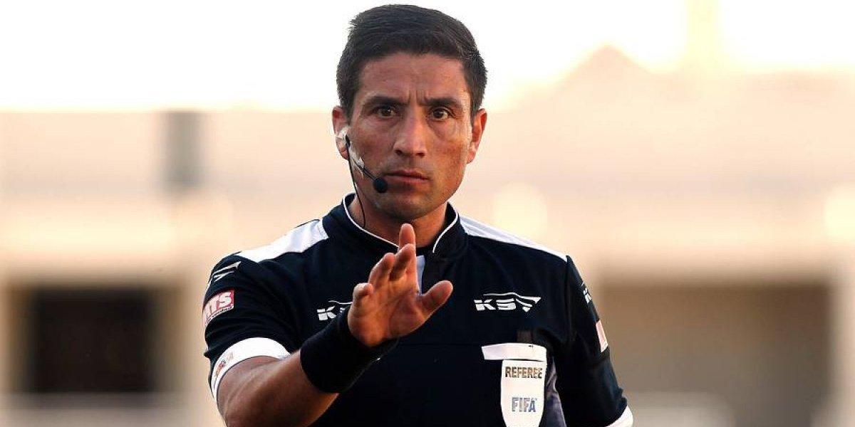 Eduardo Gamboa será el árbitro en la final de Copa Chile entre la U y Wanderers
