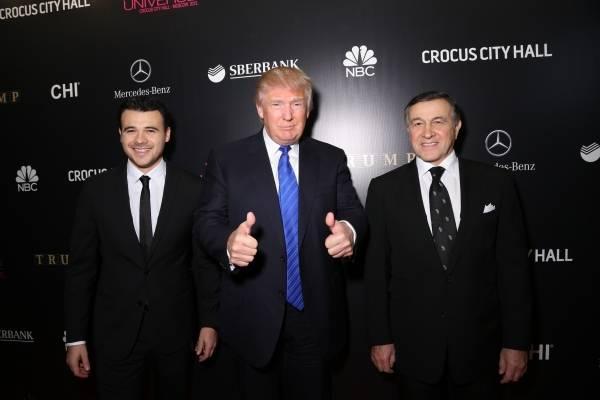 Trump en Rusia
