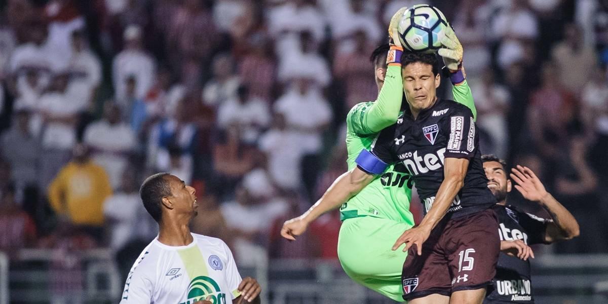 São Paulo arranca empate com a Chape e segue sonhando com vaga na Libertadores