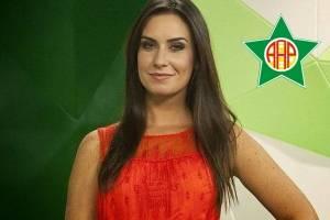 Larissa Erthal torce para a Portuguesa da Ilha do Governador