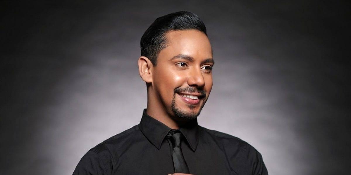 Jhonaly Guzmán fue el maquillador de las estrellas en el Festival Presidente