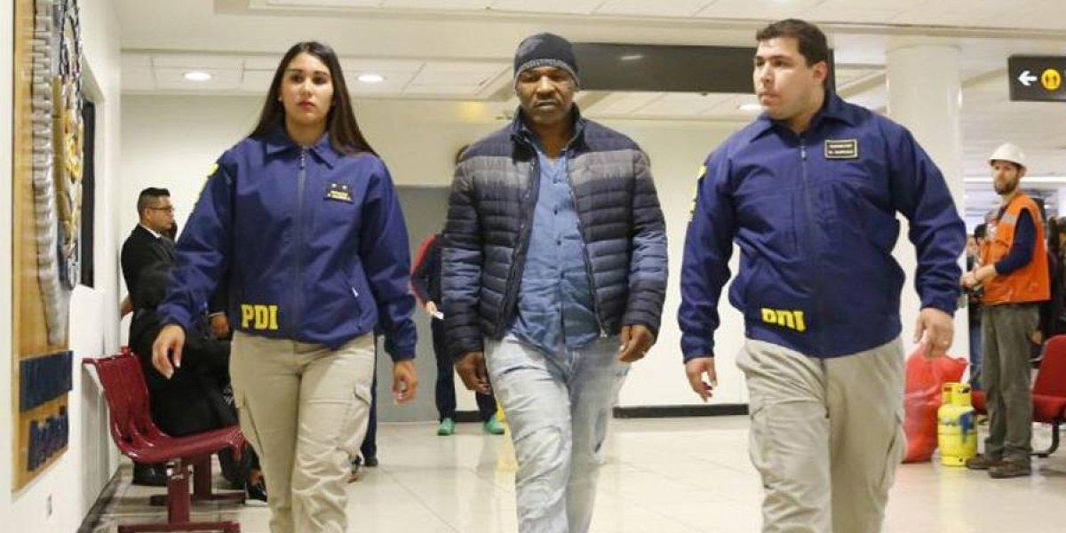 Chile no permite la entrada al país de Mike Tyson
