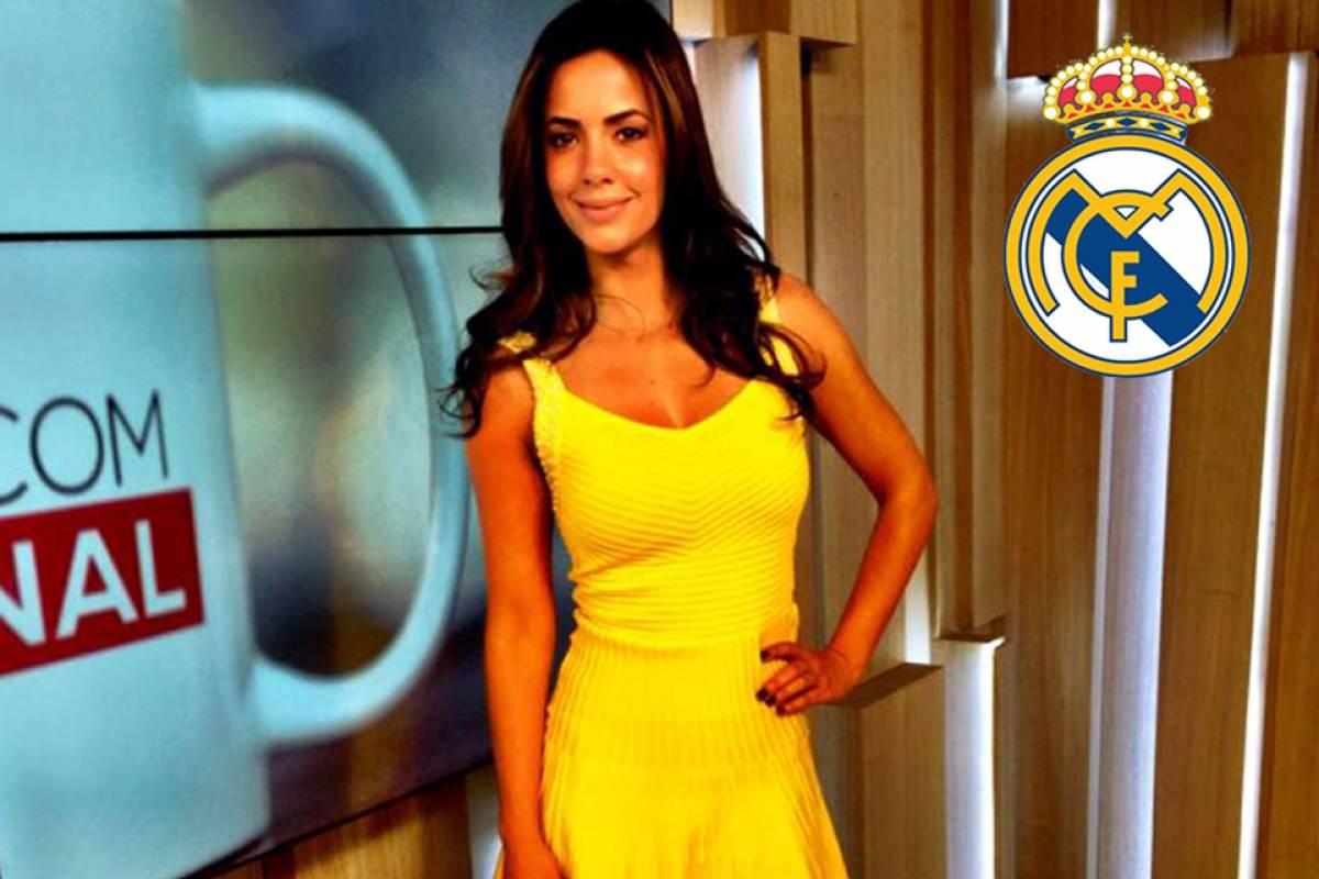 Paloma Tocci acompanha o Real Madrid Divulgação