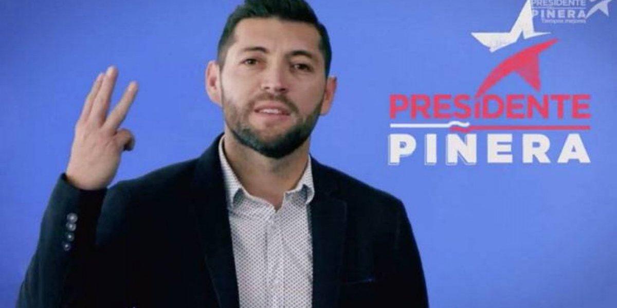 "José ""Pepe"" Rojas se cambió a la banda derecha: Apareció en franja política de Piñera"