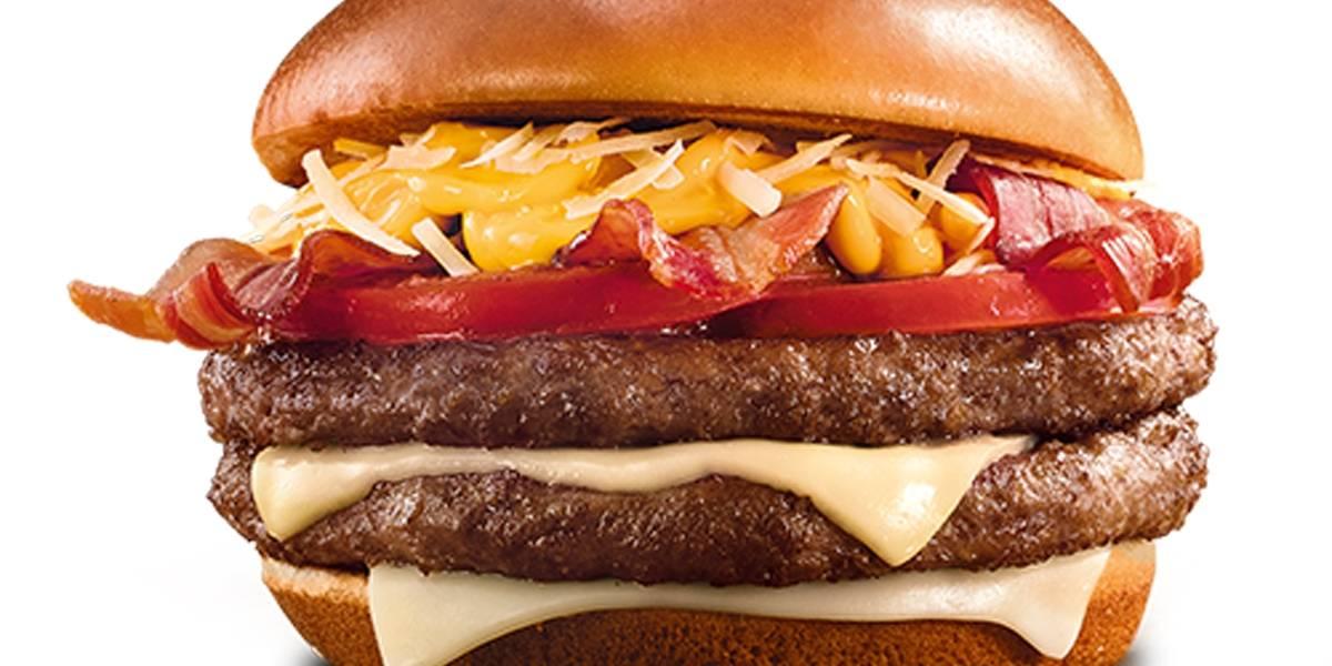 McDonald's inova com lanche com quatro queijos nas opções frango e carne bovina