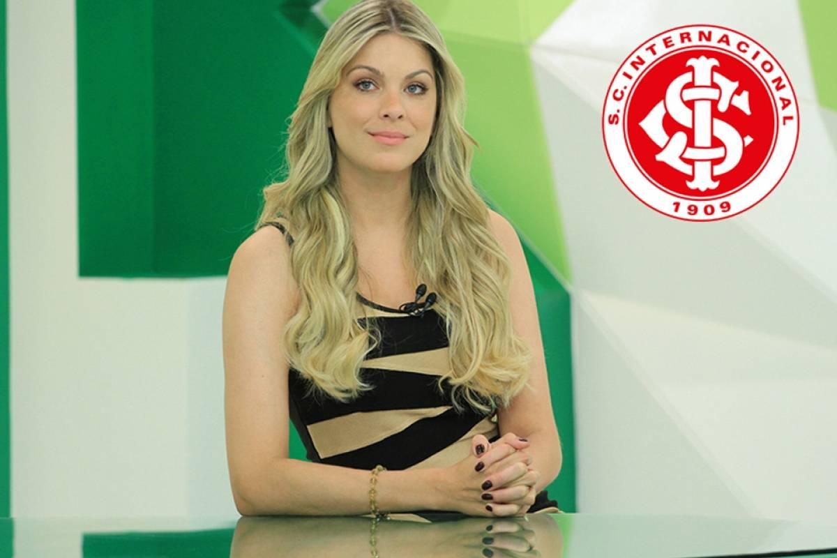 Renata Fan é fanática pelo Inter Divulgação