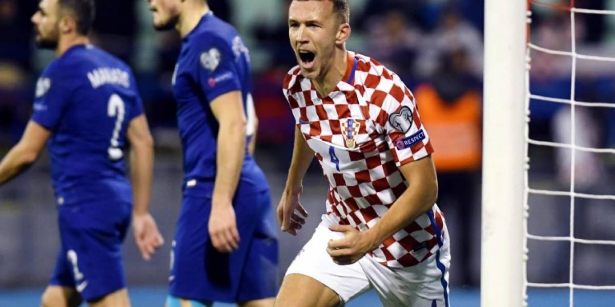 Croacia golea a Grecia y pone pie y medio en el Mundial