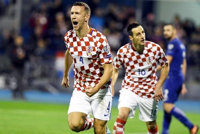 Ivan Perišić anota contra Grecia