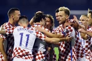 Gol de Croacia contra Grecia