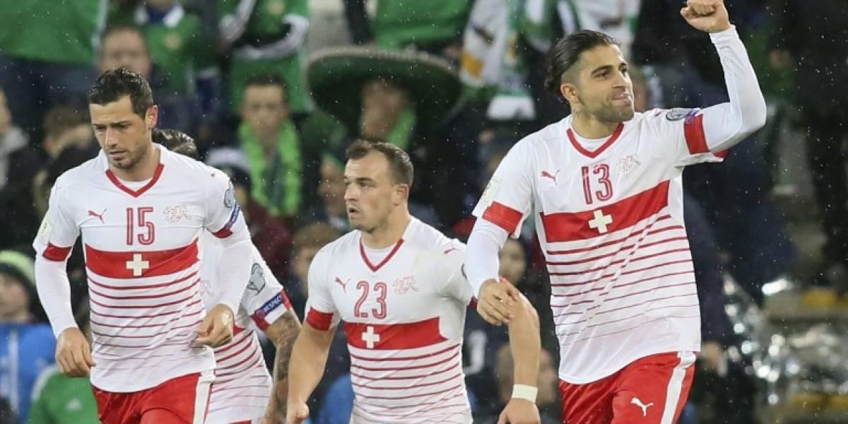 Irlanda del Norte no puede con Suiza y complica su pase a la Copa del Mundo