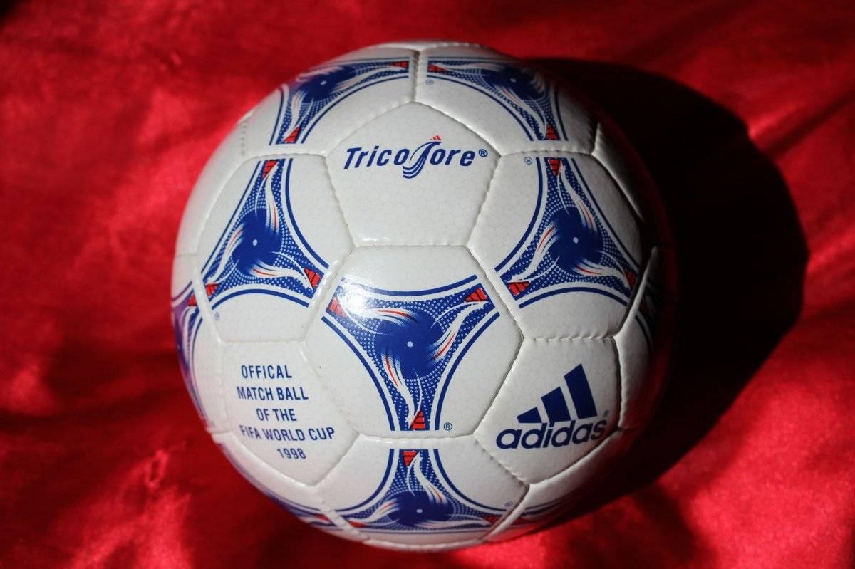El balón Tricolore se ocupó durante el Mundial de Francia de 1998/worldcupball.com